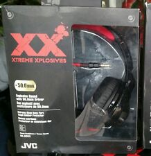 JVC HA-M55X Headband Headphones - Black/Red