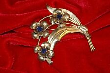 Vintage Lg. Sterling HARRY ISKIN Signed Brooch. See Combined Shipping