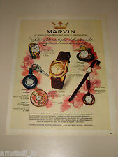 *59=MARVIN OROLOGIO WATCH=1958=PUBBLICITA'=ADVERTISING=PUBLICIDAD=WERBUNG=