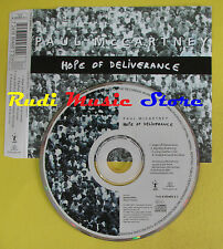 CD Singolo PAUL McCARTNEY Hope of deliverence 1992 holland MPL no lp mc dvd(S13)