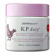 DERMAdoctor KP Duty dermatologist body scrub with chemical + physical NEW