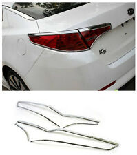 Kia K5 Optima 2011 2012 2013 ABS Chrome Tail Light lamp Cover Trim