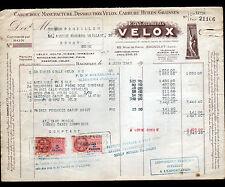 """BAGNOLET (93) ACCESSOIRES & CAOUTCHOUC VELOX VOLTA MIROR """"Ets. VELOX"""" en 1947"""