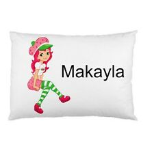 STRAWBERRY SHORTCAKE Personalized childrens kids BED pillow case