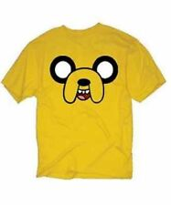 Authentic Cartoon Network Adventure Time With Finn & Jake Face T Tee Shirt Xl