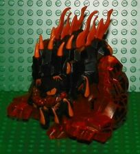 LEGO 8191- Power Miners - Rock Monster - Erupto (Trans-Orange) Mini Figure