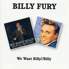 We Want Billy!/Billy by Billy Fury (CD, Jan-1995, Bgo)