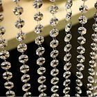 Acrylic Crystal Clear Hanging Bead Garland Chandelier 33 FT Wedding Decorations