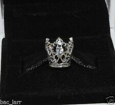"AUTHENTIC PANDORA""Princess Crown Disney Charm 791580cz,  #877"