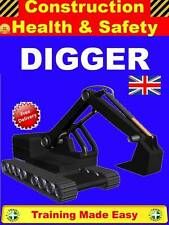 PLANT DIGGER EXCAVATOR 360 JCB Construction Health & Safety Training
