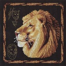 "Counted Cross Stitch Kit PANNA - ""Lion"""