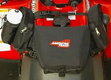 American Trails - ATV Saddle Bag Black - Tank Bag Front Accessories Storage Pack