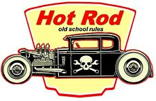 """Hot Rod - Custom Roadsters Classic Muscle Cars Fabric Poster 20""""x13"""" 003"""