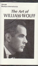 William Wolff - The Art of... (Cassette, 1996, CM-626) NEW Cantor