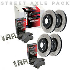 STOPTECH Performance Brake Rotors+Pads Kit for Honda 99-00 Civic Si 934.40044