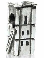 TEDORA FIRENZE GIOTTO BELL TOWER BEAD 925 SILVER CHARMS FIT EUROPEAN BEADS S 387