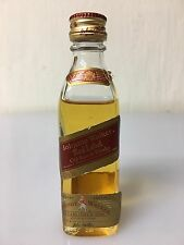 Raro Mignon Miniature Johnnie Walker Old Scotch Whisky Red Label 5cl 43% Vol