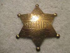 Old West Obsolete Deputy Sheriff Dress Badge