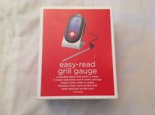 Easy Read Grill Gauge Programable With Built-In Timer New