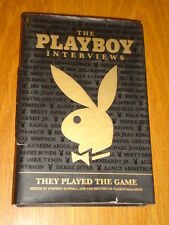 PLAYBOY INTERVIEWS THEY PLAYED THE GAME STEPHEN RANDALL HARDBACK   9781595820464