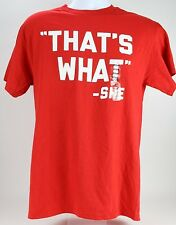 """THAT'S WHAT SHE SAID"" Funny T-shirt Mens Humor Bar Pick / Hook Up line Humor M"