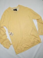 Obey Propaganda creature comforts crew Heather Oatmeal yellow Sweatshirt size XL
