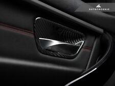 AUTOTECKNIC CARBON FIBER INTERIOR DOOR HANDLE TRIM  - BMW F36 440I GRAN COUPE