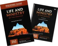 New LIFE AND MINISTRY of MESSIAH That The World May Know DVD Discovery Guide SET
