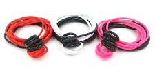 New High Quality 72 Piece Red White Pink & Black Jelly Bracelet & Rings Lot