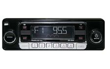 Car Stereo Radio Vintage 60's Look AM FM w/iPOD & USB CD SD MP3 Classic Style