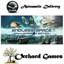 Endless Space-Emperador Edición: Pc Mac: (steam/digital) automático de entrega