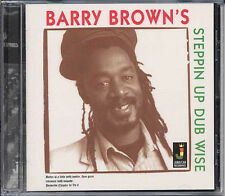 BARRY BROWN STEPPIN UP DUB WISE NEW CD £9.99