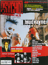 PSYCHO 44 2001 Mudvayne Devin Townsend Rose Tattoo Amen Dying Fetus Geddy Lee