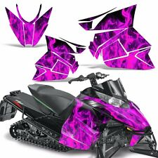 Pro Climb Wrap Graphic Kit Arctic Cat Cross Snowmobile Sled 2012-2013 ICE PINK