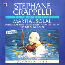 STEPHANE GRAPPELLI Olympia 88 GER Press WEA 243 976 1988 LP
