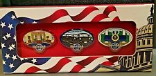 2017 HARD ROCK CAFE WASHINGTON DC PRESIDENT ELECT TRUMP INAUGURATION  PIN SET