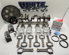 SBC 350 CHEVY ROTATING ASSY., MAHLE FLAT TOP FORGED PISTONS 4.030 BORE 2PC RMS