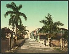East Street Nassau Bahama Islands A4 Photo Print