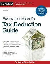 Every Landlord?'s Tax Deduction Guide, Fishman, Stephen, Good Condition, Book