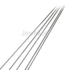 5Pcs Stainless Steel 0.2mm Needle Replacement for Airbrush Gun Nail Painting