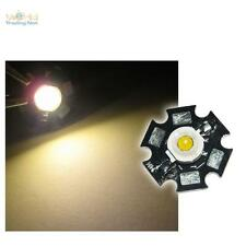 5 x Hochleistungs LED Chip 1W warm-weiß HIGHPOWER STAR