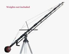 Proaim Video Camera 21ft Crane for Tripod Stand Pan Tilt Head Film Making Shoot