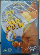 DISNEY ~ BASIL THE GREAT MOUSE DETECTIVE ~ NEW SEALED DVD
