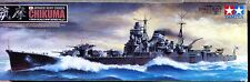 Chikuma, Early War Version, IJN Cruiser, TAMIYA 1/350