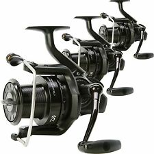 Daiwa NEW Crosscast BLK 5500 Big Pit Set of 3 Quick Drag Carp Fishing Reels