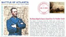 COVERSCAPE computer designed 150th Anniversary of Battle of Atlanta event cover