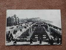 1922 Fr Advance series postcard- Blackpool from Cliffs - Lancashire