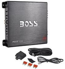 Boss R2400D 2400 Watt Mono Block Car Audio Class D Power Amplifier/Amp+Bass Knob