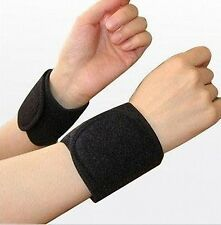 Healing Tourmaline Magnetic Neoprene Wrist Pads - Ease Hands Pain