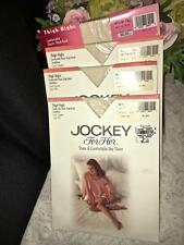 Jockey for Her Thigh High Stockings Med. Tall Antique White # 020406
